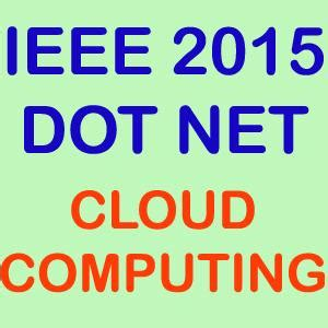 Ieee research paper on cloud computing security